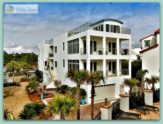 Amazing Santa Rosa Beach Fl 4 Story Lakefront Home For Sale With Download Free Architecture Designs Scobabritishbridgeorg