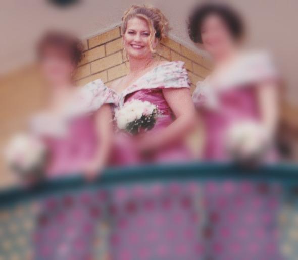 1996 Bridesmaid for my bestie