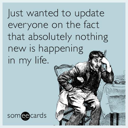 update nothing happening
