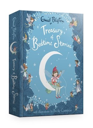 Book review & giveaway: Treasury of Bedtime Stories by Enid Blyton