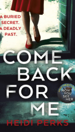Book review: Come Back for Me by Heidi Perks