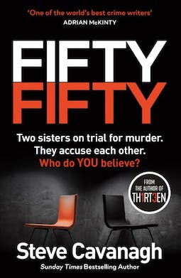 Book review: Fifty Fifty by Steve Cavanagh