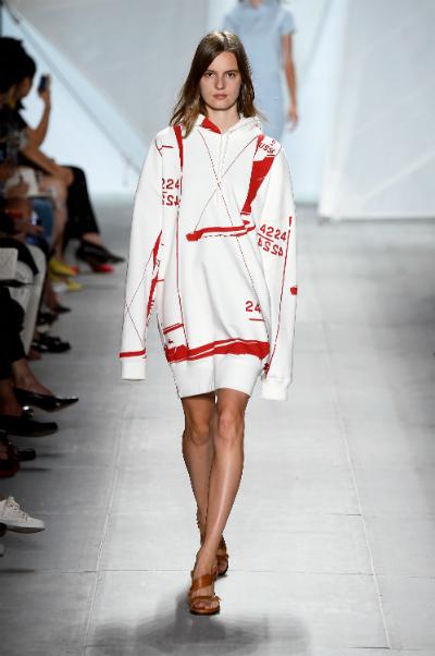 Lacoste semana de la moda Nueva York