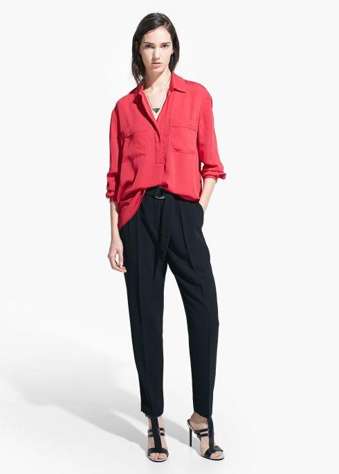 pantalón mango vestir