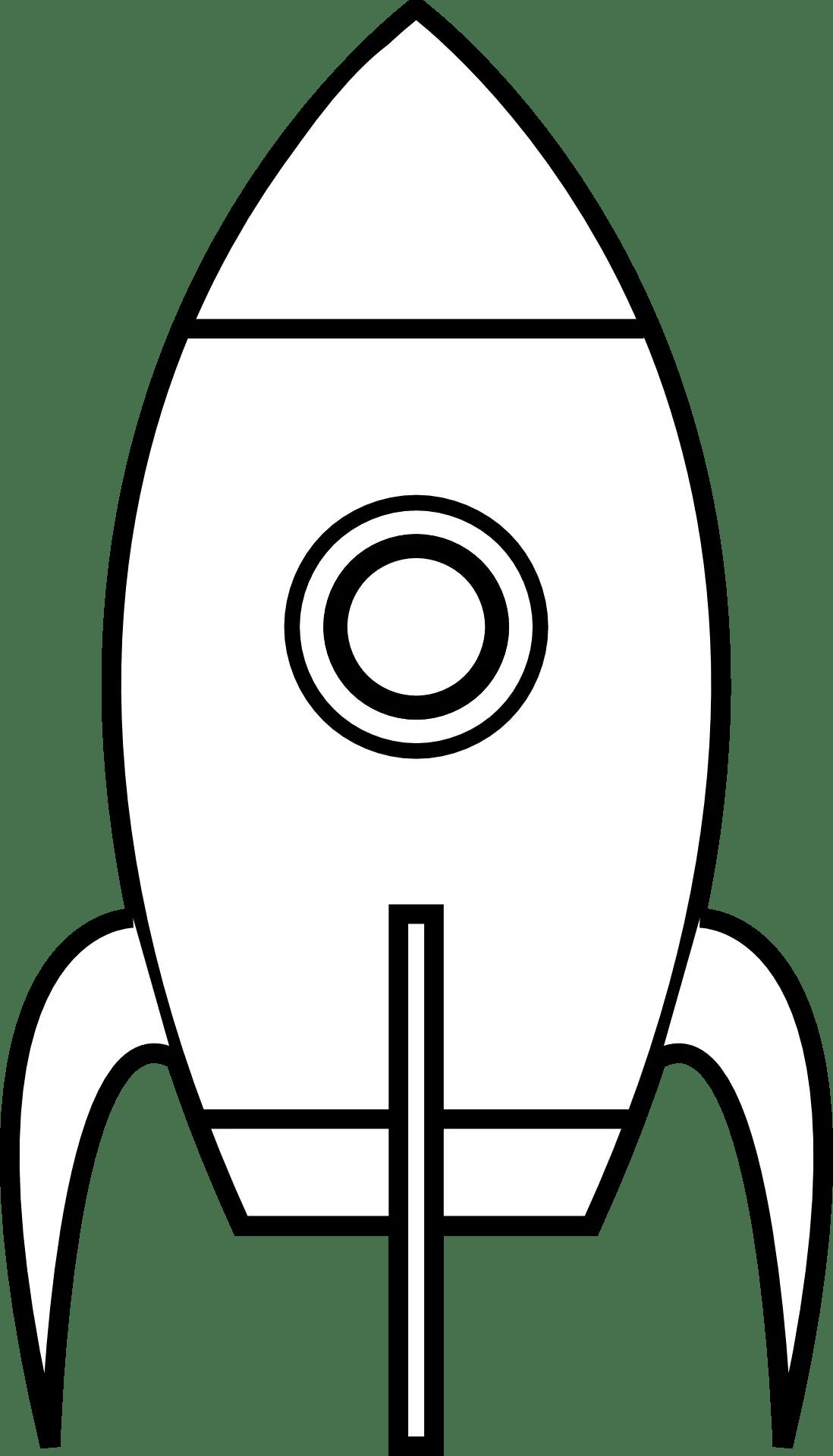 Cartoon About Rocketship