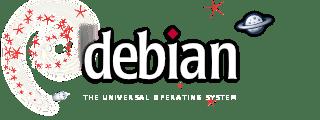 Debian spacefun logo
