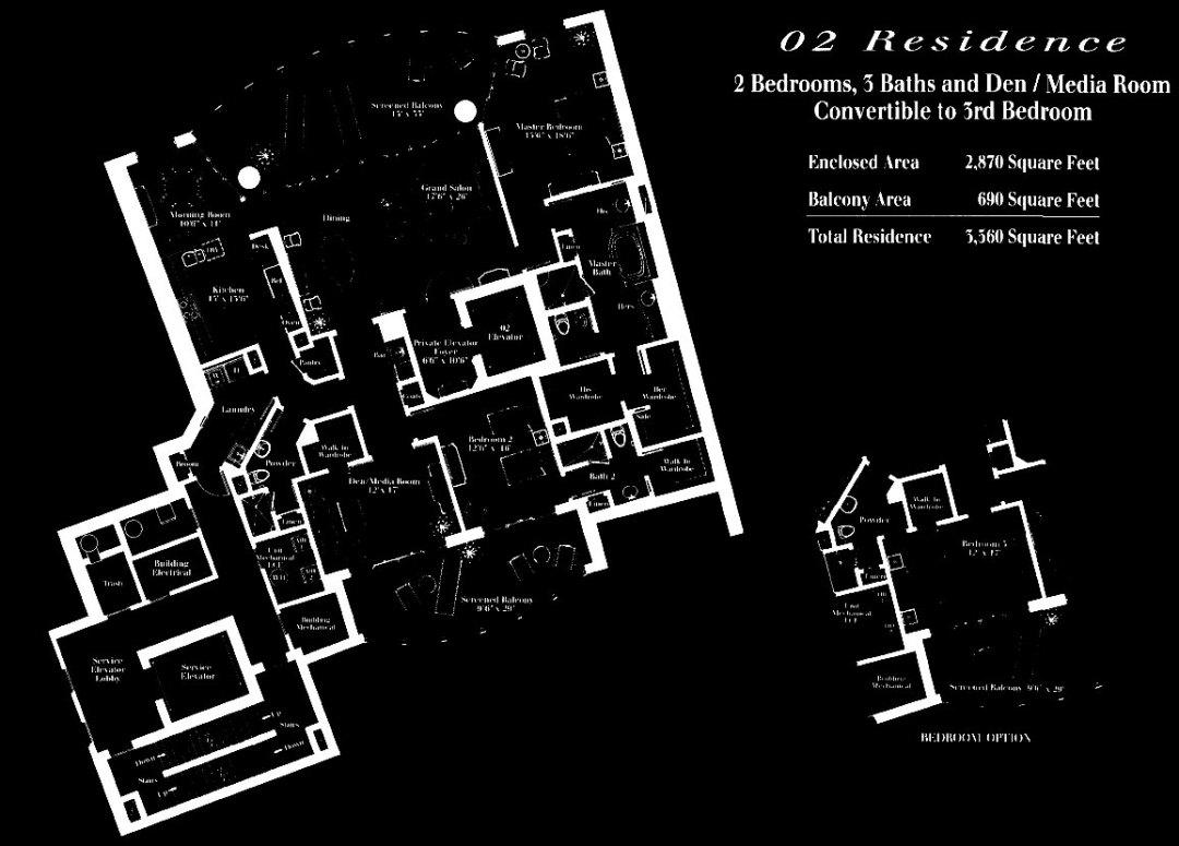 Remington at Bay Colony 02 Floor Plan