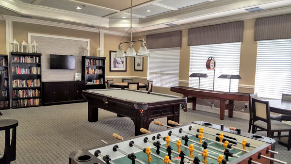 Marbella Lakes Clubhouse Game Room
