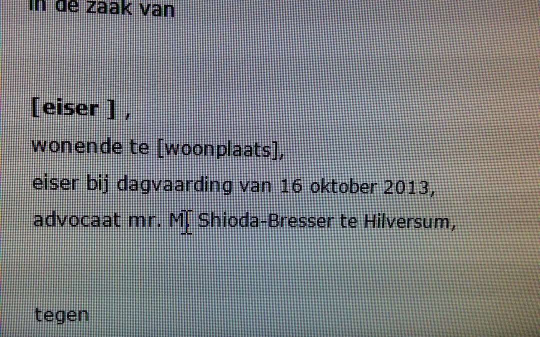 Anonimiseren van uitspraken op rechtspraak.nl