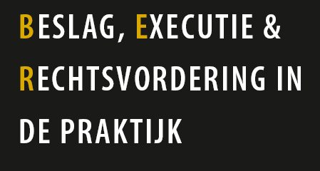 BER column beslag executie rechtsvordering Rv e-Court griffierechten