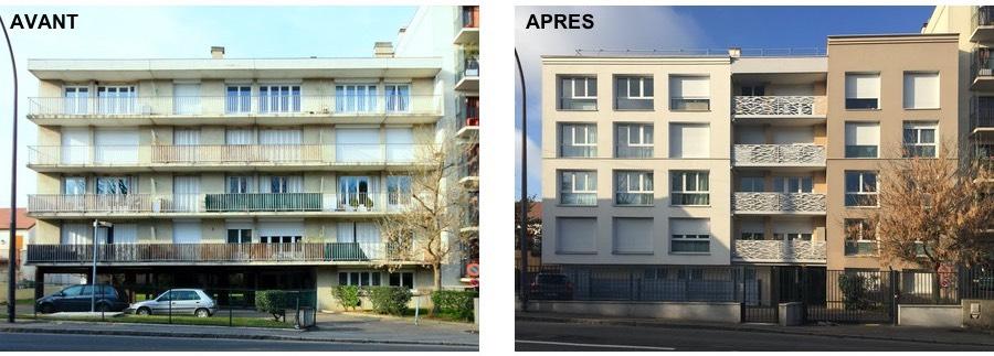 Rénovation globale architecte