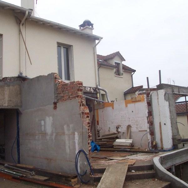 Rueil chantier architecte
