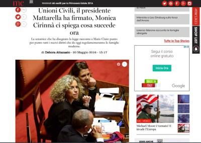 Unioni civili, ce le spiega la senatrice Monica Cirinnà