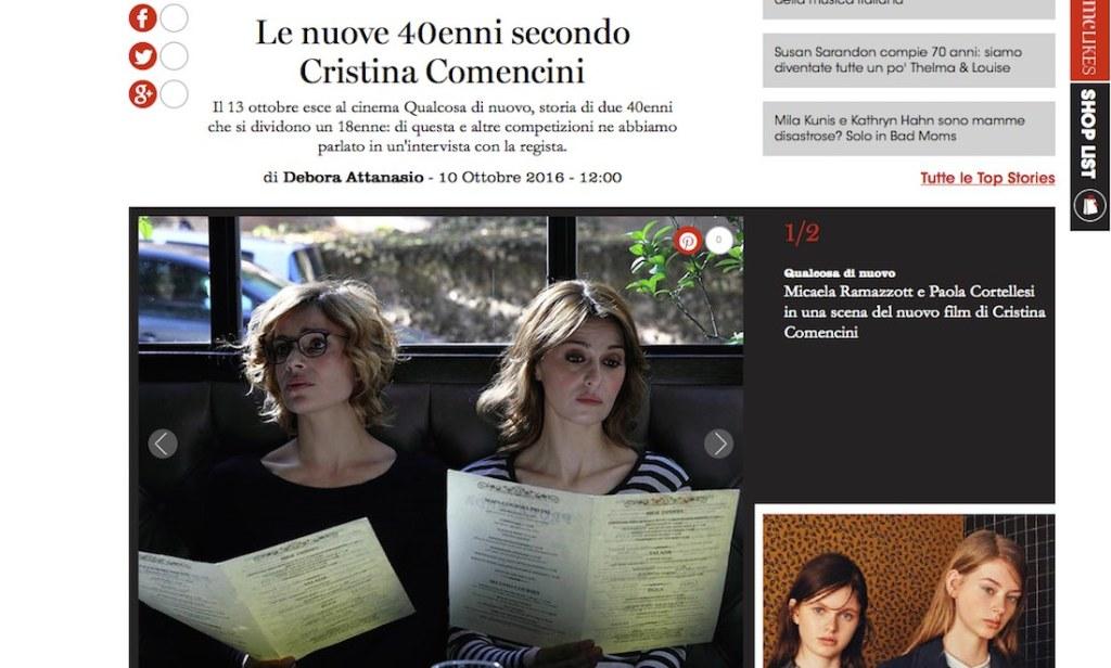 Qualcosa di nuovo per Micaela Ramazzotti e Paola Cortellesi