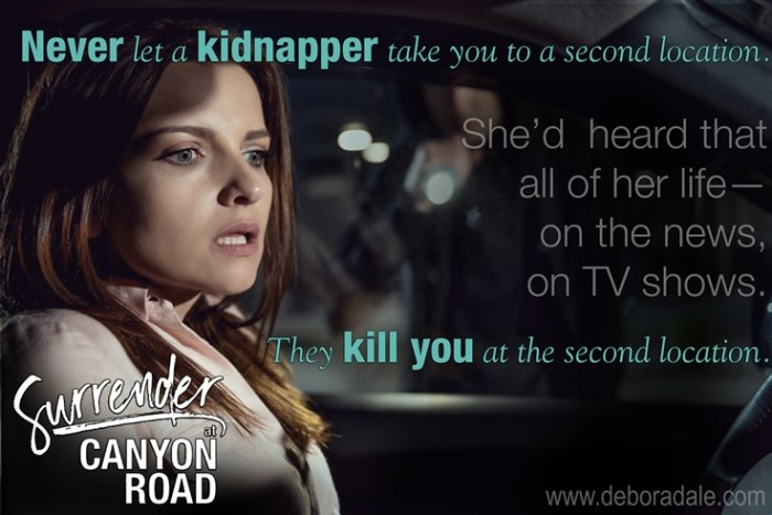 Not your Mother's Heroine - Surrender at Canyon Road