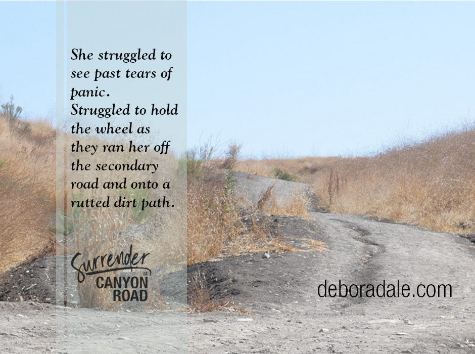 Teaser Tuesday: Surrender at Canyon Road