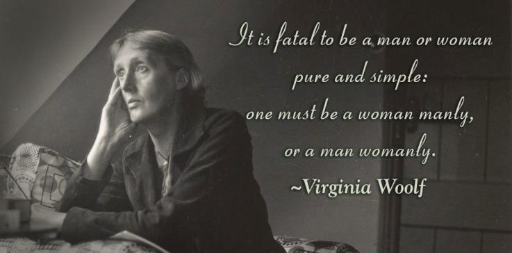 Men and women Virginia Woolf - Not your Mother's Romantic Suspense