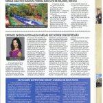 Linha Aberta June 2014 issue features Deborah Bernstein.