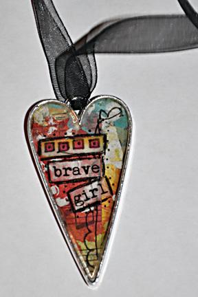 BraveGirl Pendant
