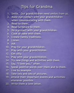 Tips for Grandma
