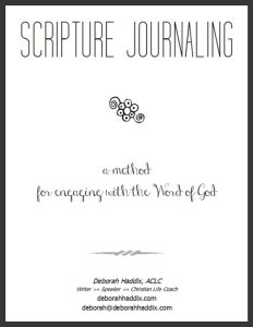 Scripture Journaling Workbook