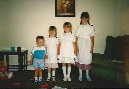 Three Victorian Girls