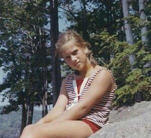 Deborah Luskin in Vermont 1956