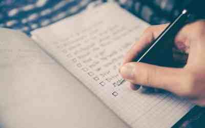 Do You Have A Checklist?