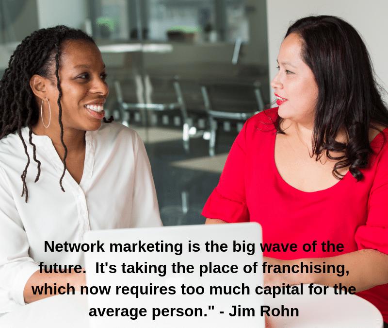 Franchising vs Network Marketing