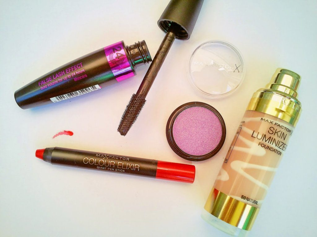 My products from Max Factor