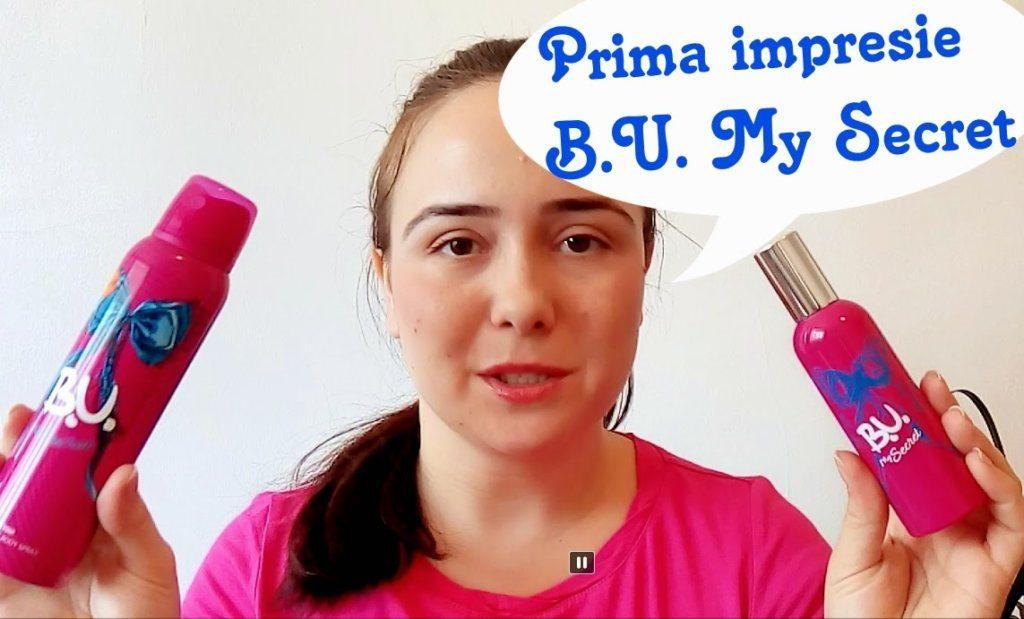 Prima impresie B.U. My Secret + video