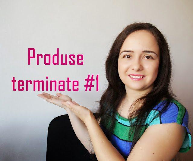 Produse terminate #1
