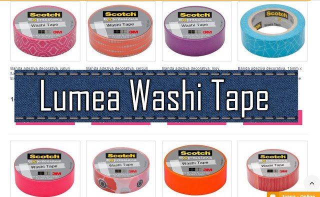 Lumea benzilor adezive – washie tape