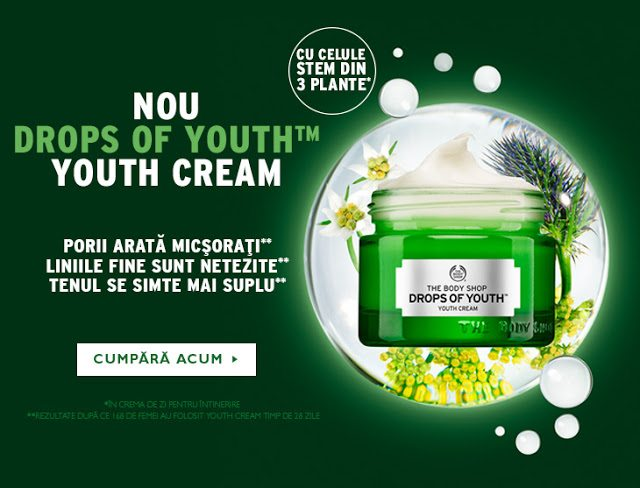 Drops of Youth – noutate de la The Body Shop