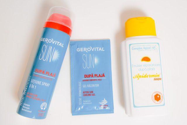 Cum să-ți calmezi pielea arsă de soare