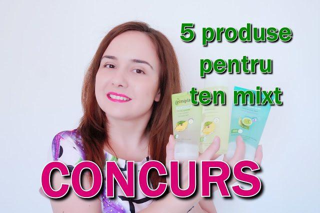 5 produse pentru ten mixt + CONCURS