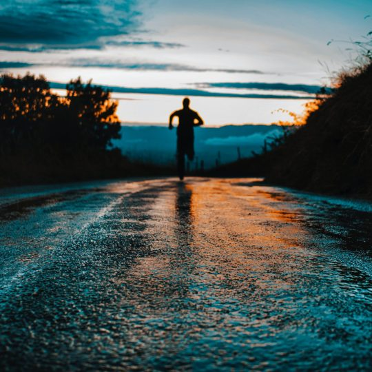 Running In The Darkness of Life