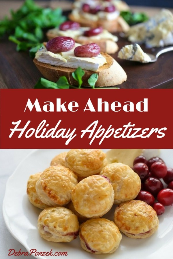 Make Ahead Holiday Appetizers - Chef Debra Ponzek