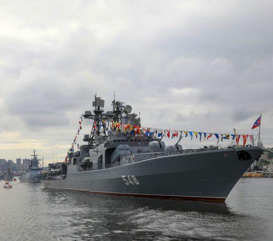 День Военно-морского флота отметили в Приморье