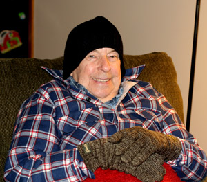 Dad's First Winter