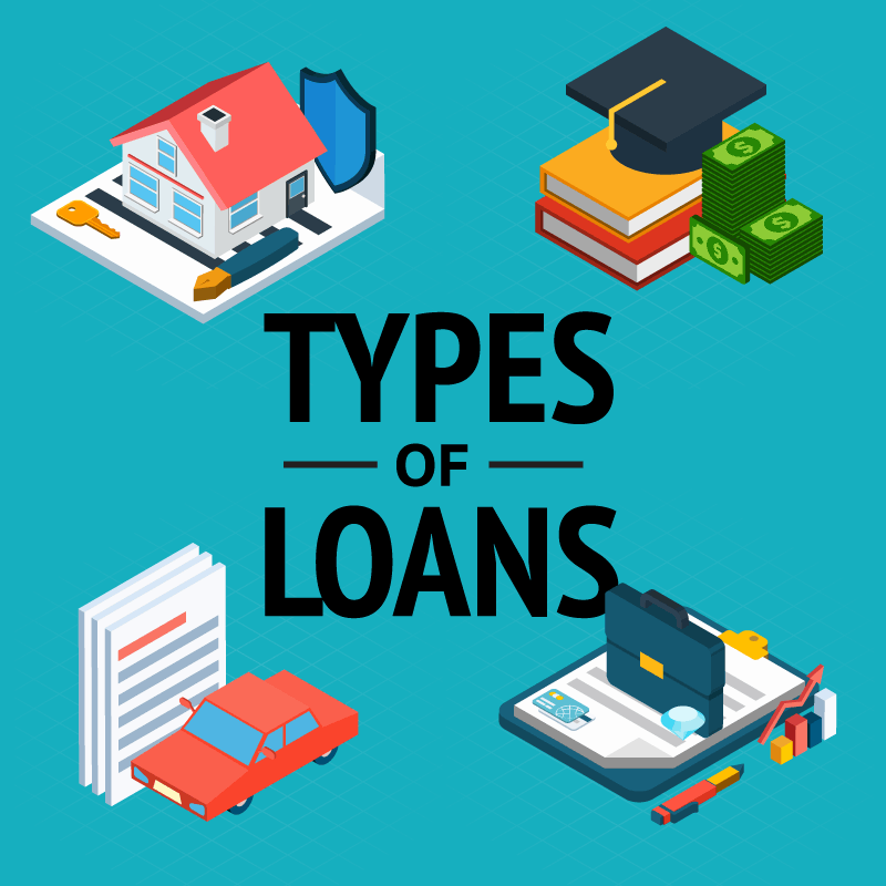 Types of Loans & Credit: Different Credit & Loan Options