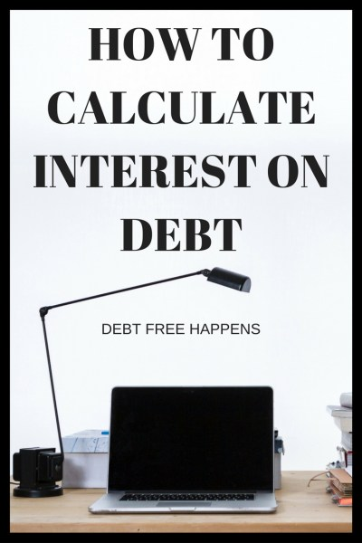 How To Calculate Interest on Debt