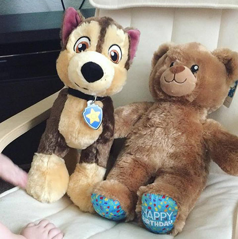 Build-a-bear Pay Your Age Stuffed Animals