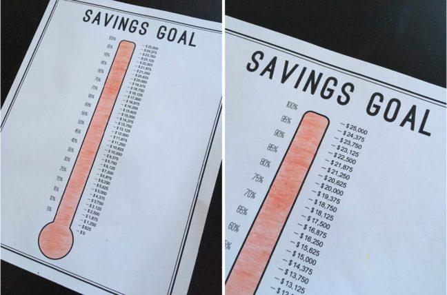 2018 Savings Goal