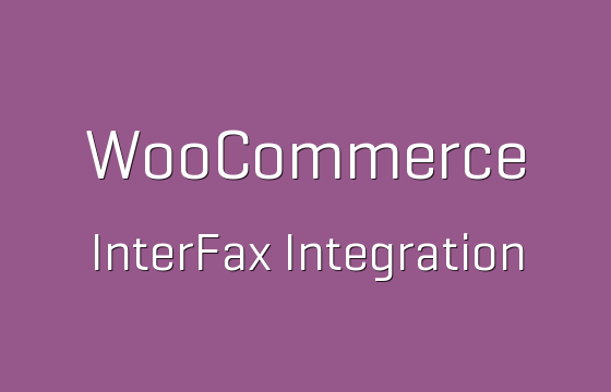 Woocommerce interfax configuration