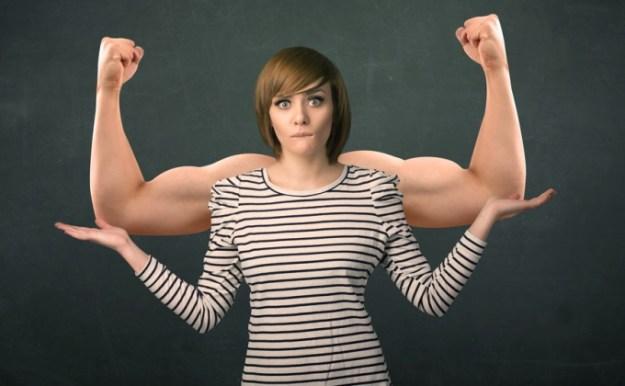 femeie puternica
