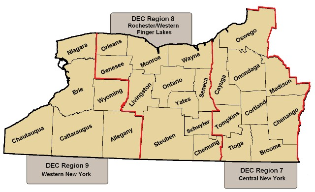 Western New York Counties