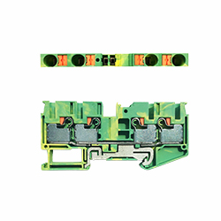 DPT6/4-PE接地端子