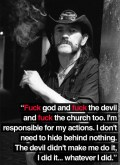Lemmy Kilmister quote 2