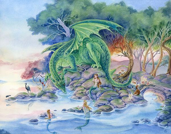Meredith Dillman Mermaids